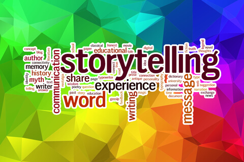 Try storytelling to enliven blog content
