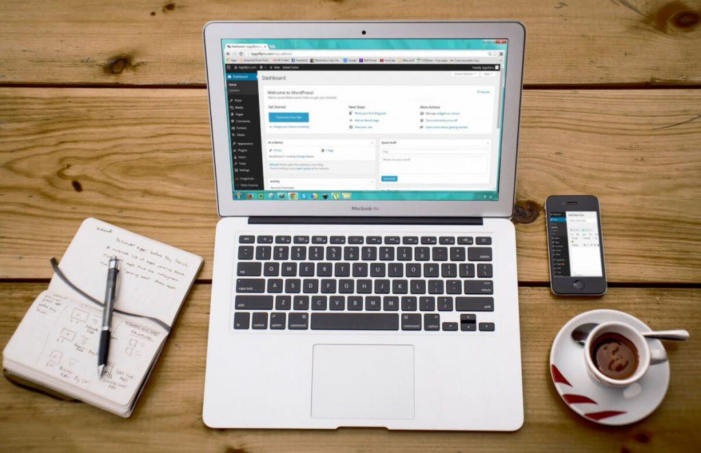 laptop-wordpress