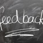 How to give writer test feedback