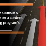 Executive Sponsor's Influence on a Content Marketing Program