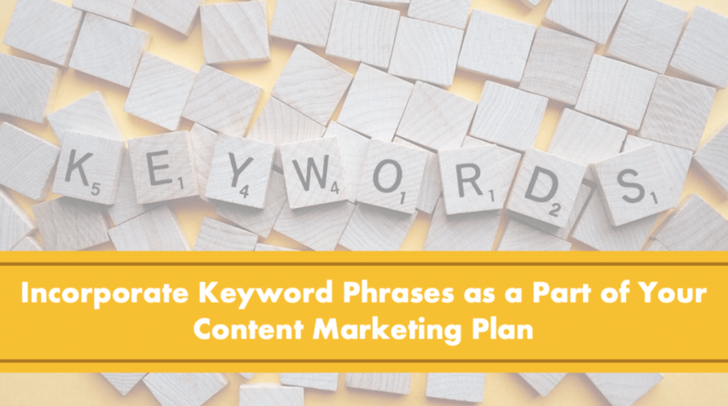 Incorporate A Focus Keyword Phrase