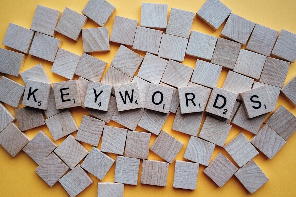 keywords-letters