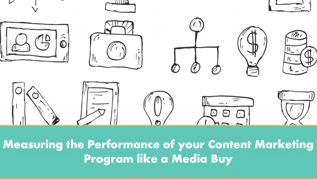 Measuring the content marketing program performance