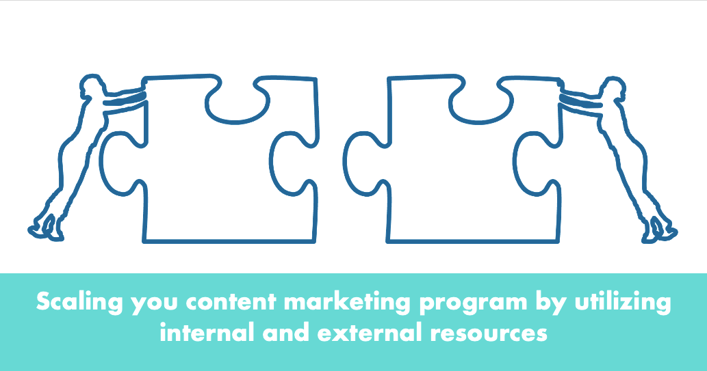 Scaling Your Content Marketing Program by Utilizing Internal and External Resources