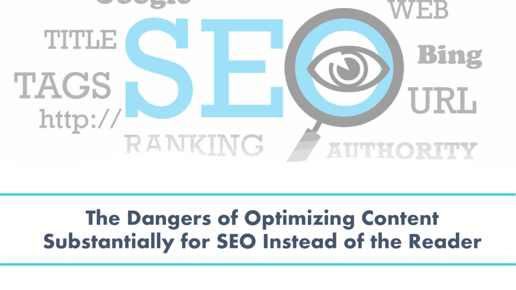 focus on your audience and your reader first, and then apply SEO to your content