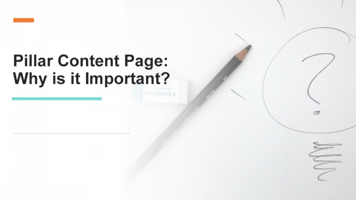 Pillar Content Page: Why is it Important?