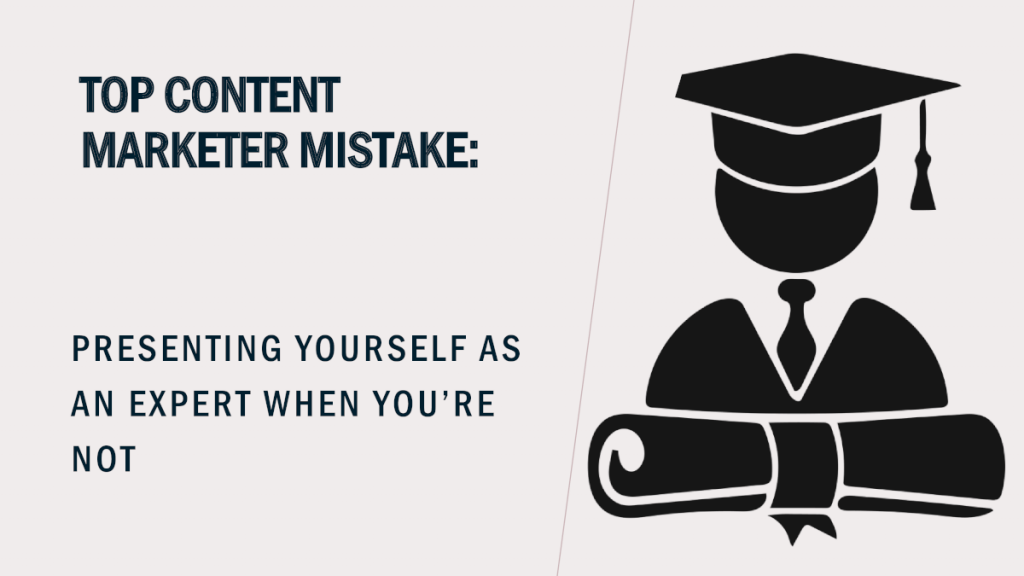 Top Content Marketer Mistake